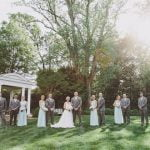 Bridal Party at Duke Mansion