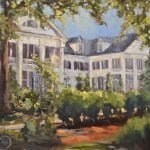 A painting of Duke mansion