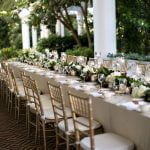 Front Porch Wedding Seating