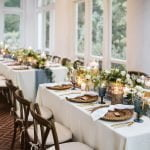 Dining arrangement at Duke Mansion