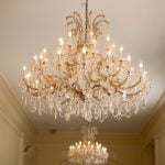 Chandeliers at Duke Mansion