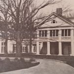 historic black and white of Duke Mansion